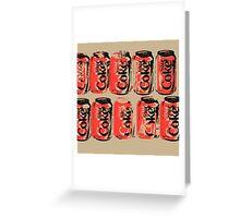 Diet Coke Can III Greeting Card
