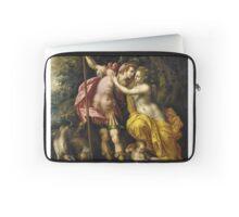 Vintage famous art - Hendrick De Clerck - Venus And Adonis Laptop Sleeve