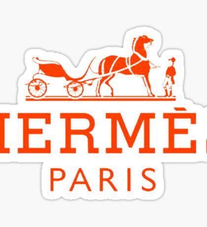 Hermes Paris  Sticker