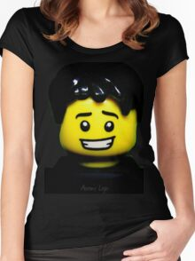 Own your version of Instagram's very own @aaronslego Women's Fitted Scoop T-Shirt