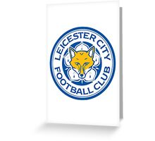 Leicester City Football Club Greeting Card
