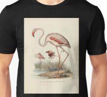 Bilder atlas zur Wissenschaftlich populären Naturgeschichte der Vögel in ihren sämmtlichen Hauptformen Leopold Joseph Fitzinger 1864 144 Unisex T-Shirt