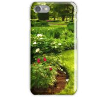 Lush Green Gardens - the Beauty of June iPhone Case/Skin