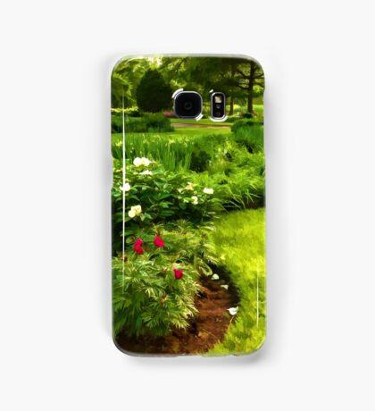 Lush Green Gardens - the Beauty of June Samsung Galaxy Case/Skin