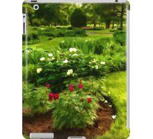 Lush Green Gardens - the Beauty of June iPad Case/Skin