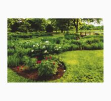 Lush Green Gardens - the Beauty of June One Piece - Long Sleeve