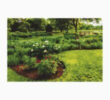 Lush Green Gardens - the Beauty of June Kids Tee