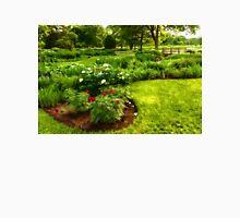 Lush Green Gardens - the Beauty of June Unisex T-Shirt