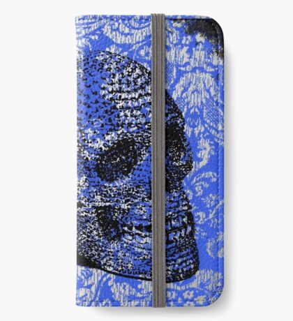 Lace Skull iPhone Wallet/Case/Skin