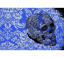 Lace Skull Photographic Print