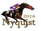 Nyquist 2016 Champion Horse Racing by Ginny Luttrell