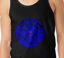 Alien Mandala Blue Tank Top