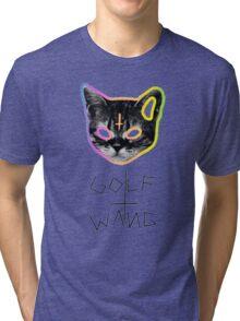 Golf Wang cat Tri-blend T-Shirt