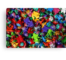 Painted Toys Canvas Print