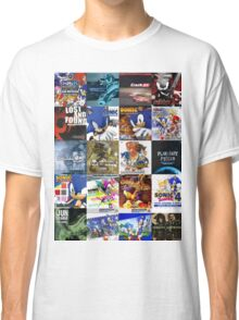 Sonic the Hedgehog - 20 Years of Album Art (with Crush 40) Classic T-Shirt