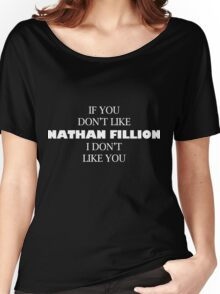 I like Nathan Fillion Women's Relaxed Fit T-Shirt