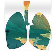 Broken Lungs Poster