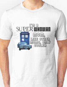 SuperWhovian Moms T-Shirt
