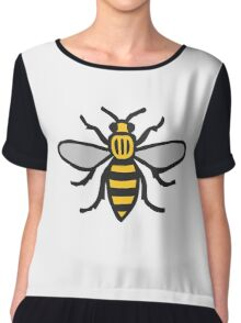 Manchester Bee, Classic Edition Chiffon Top