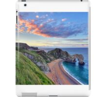 Sunrise over Durdle Door iPad Case/Skin