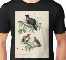 Bilder atlas zur Wissenschaftlich populären Naturgeschichte der Vögel in ihren sämmtlichen Hauptformen Leopold Joseph Fitzinger 1864 057 Unisex T-Shirt