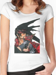 Guilty Gear Women's Fitted Scoop T-Shirt