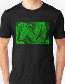 Green Fluid Unisex T-Shirt