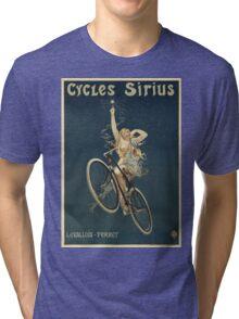 Vintage famous art - Henri Gray - Cycles Sirius Tri-blend T-Shirt