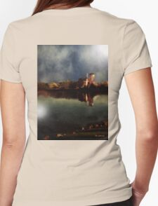 The Lake and the Sky Womens Fitted T-Shirt