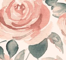Background with beautiful roses Sticker