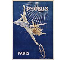 Vintage famous art - Henri Gray - Phebus Paris Poster Photographic Print