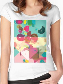 DECOMPOSE Women's Fitted Scoop T-Shirt
