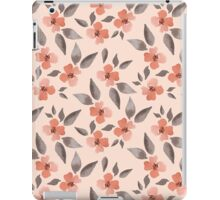 Blossom. Watercolor floral background. Seamless pattern iPad Case/Skin