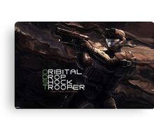 ODST Canvas Print