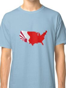 The Man in the High Castle Map Classic T-Shirt