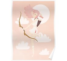 Pink Haired Archer Poster
