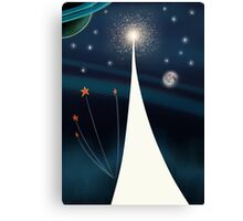 Space Conquest - To infinity and beyond ! Canvas Print