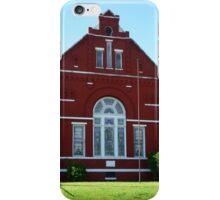 Red Church iPhone Case/Skin