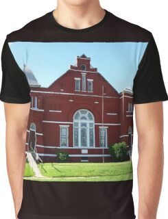 Red Church Graphic T-Shirt