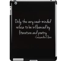 Influenced by Literature and Poetry... iPad Case/Skin