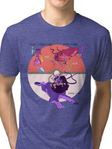 Fire & Grass Type Tri-blend T-Shirt