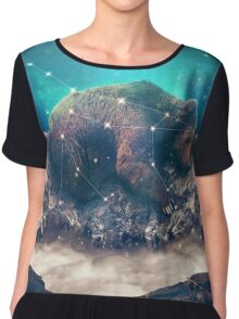 Under the Stars (Ursa Major) Chiffon Top