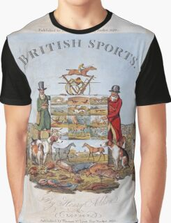 Vintage famous art - Henry Alken - The National Sports Of Great Britain Graphic T-Shirt
