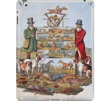 Vintage famous art - Henry Alken - The National Sports Of Great Britain iPad Case/Skin