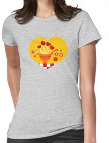 Love Soup Womens Fitted T-Shirt