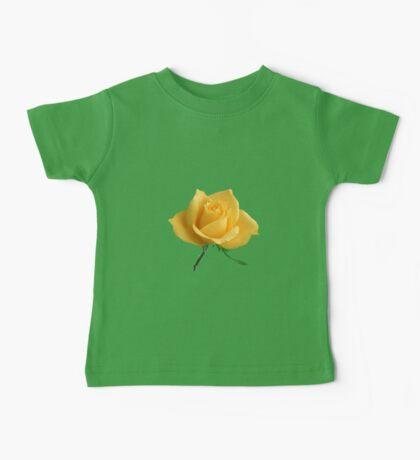 Beautiful yellow rose Baby Tee