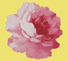 Flower pink peony Baby Tee