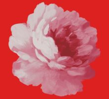Flower pink peony One Piece - Long Sleeve