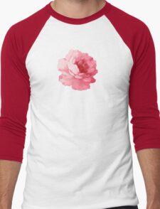 Flower pink peony Men's Baseball ¾ T-Shirt