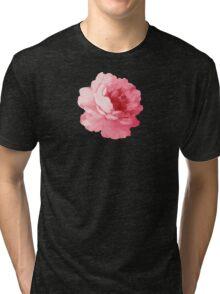 Flower pink peony Tri-blend T-Shirt